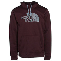 The North Face Surgent Half Dome Mens Hoodie, Root Brown-Mid Grey, 256
