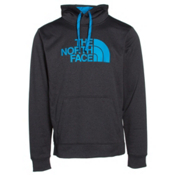 The North Face Surgent Half Dome Mens Hoodie, TNF Dark Grey Heather-Blue Ast, medium