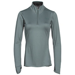 The North Face Motivation 1/4 Zip Womens Shirt, Balsam Green, 256