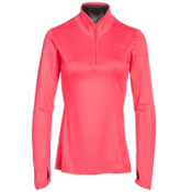 The North Face Motivation 1/4 Zip Womens Shirt, Calypso Coral, medium