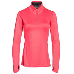 The North Face Motivation 1/4 Zip Womens Shirt, Calypso Coral, 256