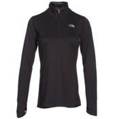 The North Face Motivation 1/4 Zip Womens Shirt, TNF Black, medium