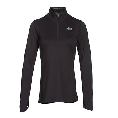 The North Face Motivation 1/4 Zip Womens Shirt, TNF Black, viewer