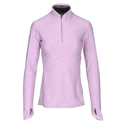 The North Face Motivation 1/4 Zip Womens Shirt, Lupine Heather, medium