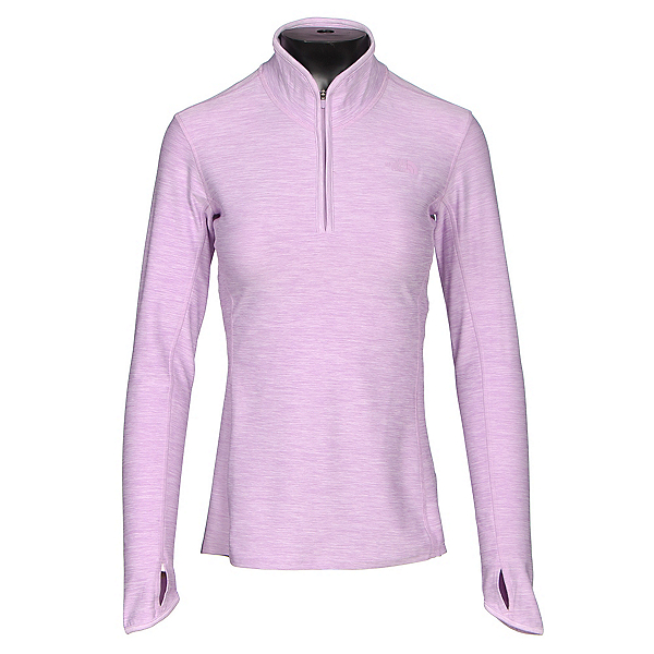 The North Face Motivation 1/4 Zip Womens Shirt, Lupine Heather, 600