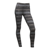 The North Face Pulse Tight Womens Pant, TNF Black Urban Sketch Stripe, medium