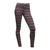 The North Face Pulse Tights Womens Long Underwear Pants, Calypso Coral Urban Sketch Str, medium