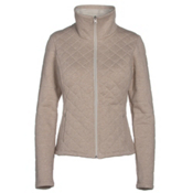 The North Face Caroluna Crop Womens Jacket, TNF Oatmeal Heather, medium