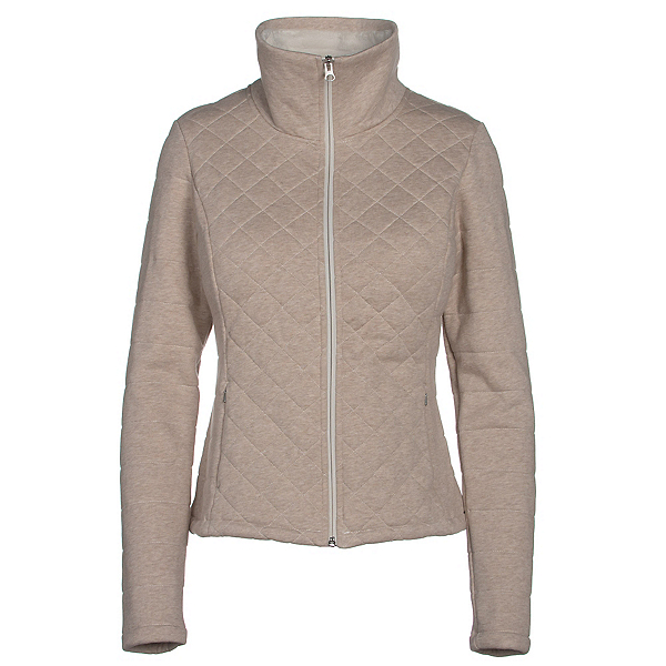The North Face Caroluna Crop Womens Jacket, TNF Oatmeal Heather, 600