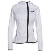 The North Face Arcata Hoodie Womens Jacket, TNF White-TNF Black, medium