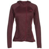 The North Face Arcata Hoodie Womens Jacket, Deep Garnet Red Heather-Deep G, medium