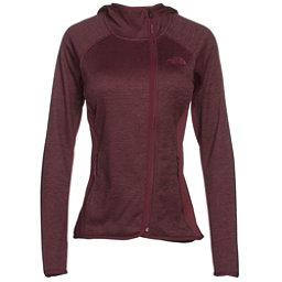 The North Face Arcata Hoodie Womens Jacket, Deep Garnet Red Heather-Deep G, 256