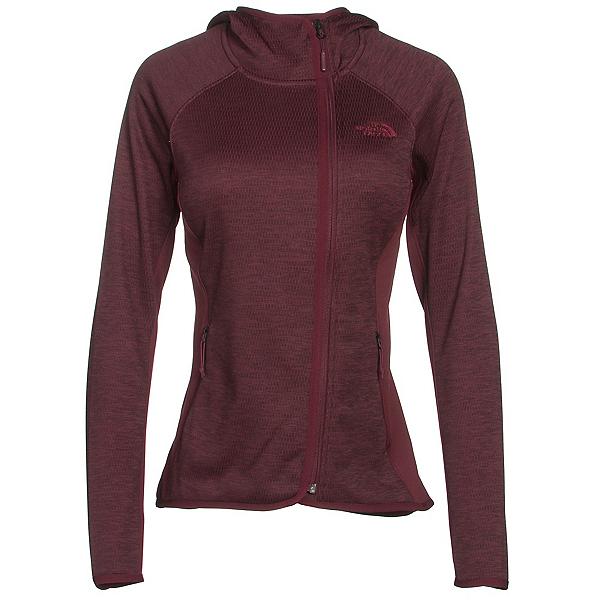 The North Face Arcata Hoodie Womens Jacket, Deep Garnet Red Heather-Deep G, 600