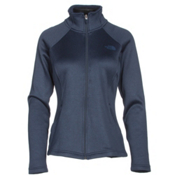 The North Face Agave Full Zip Womens Jacket, Cosmic Blue Heather, medium