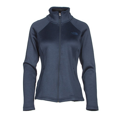 The North Face Agave Full Zip Womens Jacket, Cosmic Blue Heather, viewer