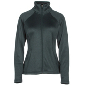 The North Face Agave Full Zip Womens Jacket, Darkest Spruce, medium