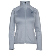 The North Face Agave Full Zip Womens Jacket, Arctic Ice Blue Heather, medium