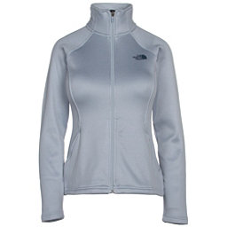 The North Face Agave Full Zip Womens Jacket, Arctic Ice Blue Heather, 256