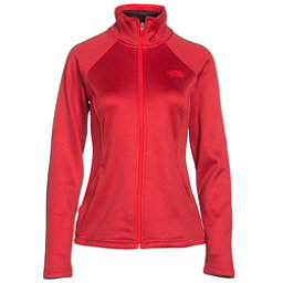 The North Face Agave Full Zip Womens Jacket, High Risk Red Heather, 256