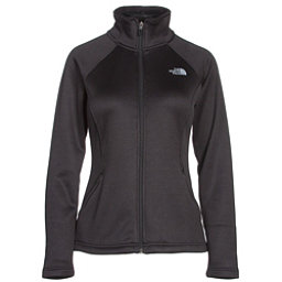 The North Face Agave Full Zip Womens Jacket, TNF Black Heather, 256