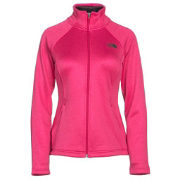 The North Face Agave Full Zip Womens Jacket, Cerise Pink Heather, 256