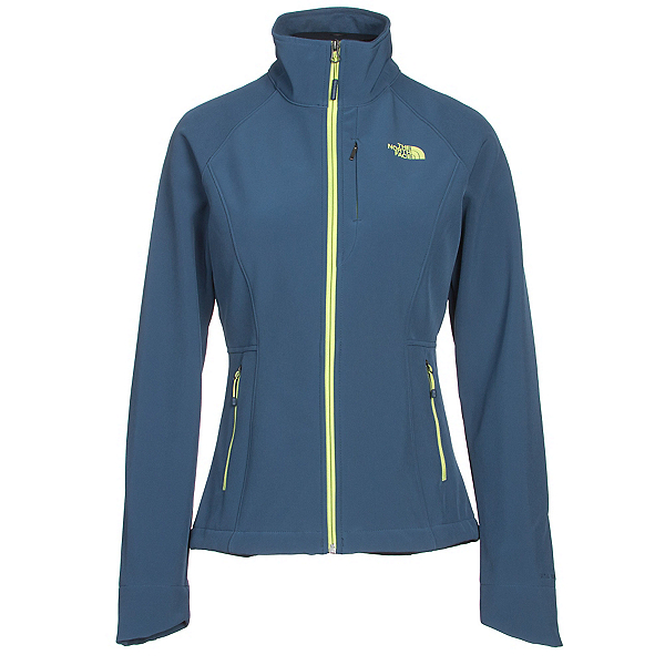 The North Face Apex Bionic 2 Womens Soft Shell Jacket, Shady Blue, 600