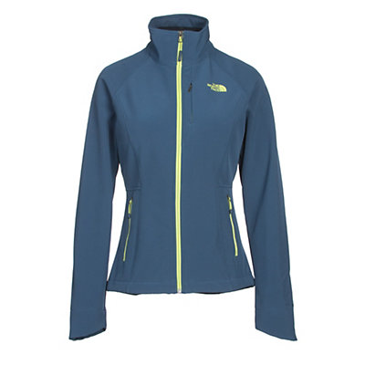 The North Face Apex Bionic 2 Womens Soft Shell Jacket, Shady Blue, viewer