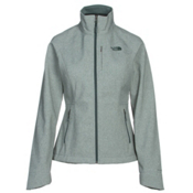 The North Face Apex Bionic 2 Womens Soft Shell Jacket, Balsam Green Heather, medium