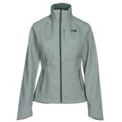The North Face Apex Bionic 2 Womens Soft Shell Jacket, Balsam Green Heather, medium