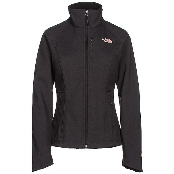The North Face Apex Bionic 2 Womens Soft Shell Jacket (Previous Season), TNF Black Heather, 600