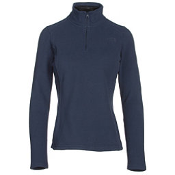 The North Face Glacier 1/4 Zip Womens Mid Layer, Cosmic Blue, 256
