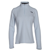 The North Face Glacier 1/4 Zip Womens Mid Layer, Arctic Ice Blue, medium