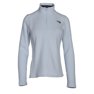 The North Face Glacier 1/4 Zip Womens Mid Layer, Arctic Ice Blue, viewer