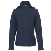 The North Face Shelbe Raschel Hoodie Womens Soft Shell Jacket, Cosmic Blue, medium