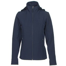 The North Face Shelbe Raschel Hoodie Womens Soft Shell Jacket, Cosmic Blue, 256