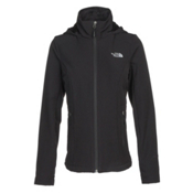The North Face Shelbe Raschel Hoodie Womens Soft Shell Jacket, TNF Black, medium
