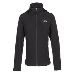 The North Face Shelbe Raschel Hoodie Womens Soft Shell Jacket, TNF Black, 256