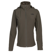 The North Face Shelbe Raschel Hoodie Womens Soft Shell Jacket, New Taupe Green, medium