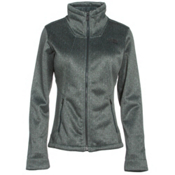 The North Face Apex Chromium Thermal Womens Soft Shell Jacket, Balsam Green-Darkest Spruce He, medium