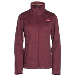 The North Face Meadowbrook Raschel Full Zip Womens Jacket, Deep Garnet Red Heather, 256