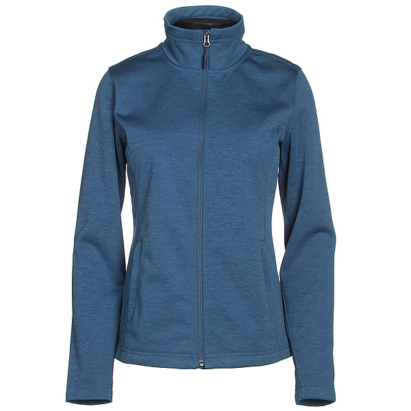 The North Face Meadowbrook Raschel Full Zip Womens Jacket, Shady Blue Heather, 600