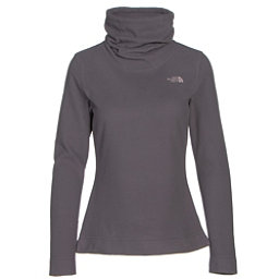 The North Face Novelty Glacier Pullover Womens Mid Layer, Rabbit Grey, 256