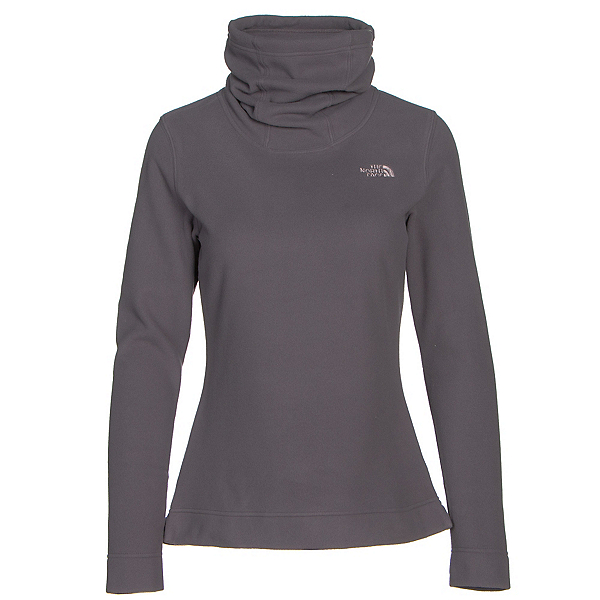 The North Face Novelty Glacier Pullover Womens Mid Layer, Rabbit Grey, 600
