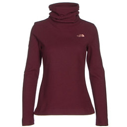 The North Face Novelty Glacier Pullover Womens Mid Layer, Deep Garnet Red, 256