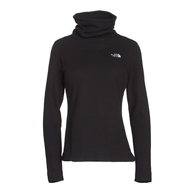 The North Face Novelty Glacier Pullover Womens Mid Layer, TNF Black, viewer