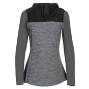 The North Face Pseudio Tunic Womens Vest, TNF Dark Grey Heather-TNF Blac, medium