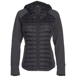 The North Face Endeavor ThermoBall Womens Jacket, TNF Black-TNF Black Heather, 256