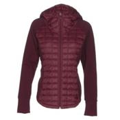 The North Face Endeavor ThermoBall Womens Jacket, Deep Garnet Red-Deep Garnet Re, medium