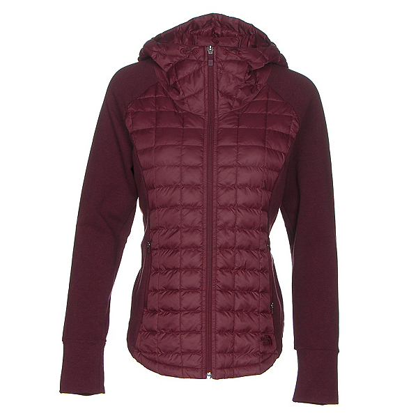 The North Face Endeavor ThermoBall Womens Jacket, Deep Garnet Red-Deep Garnet Re, 600