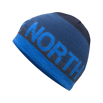 The North Face Youth Anders Beanie Kids Hat, Cosmic Blue, viewer
